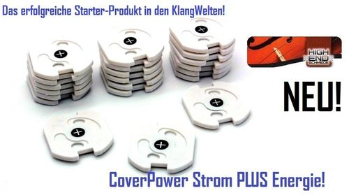 CoverPower PLUS Stromkappen! 10er Set!